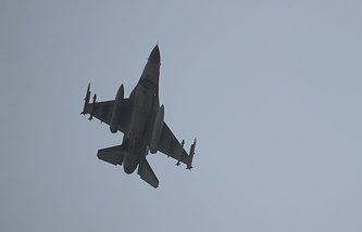 Turkish Air Force fighter jet