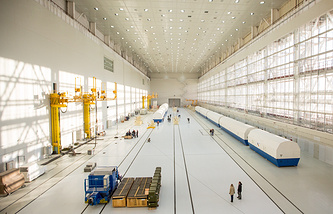 Assembly and Testing Facility at Vostochny Cosmodrome