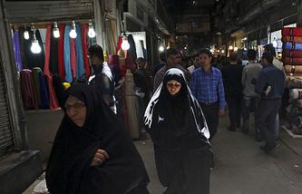 Old bazaar, in Tehran, Iran