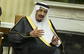 Saudi King Salman bin Abd al-Aziz al Saud