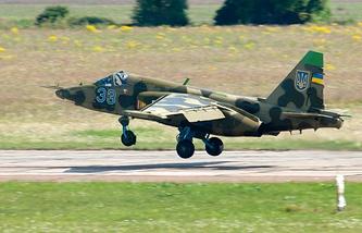 Sukhoi Su-25 attack aircraft (archive)
