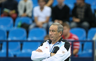 Shamil Tarpishchev, the president of the Russian Tennis Federation