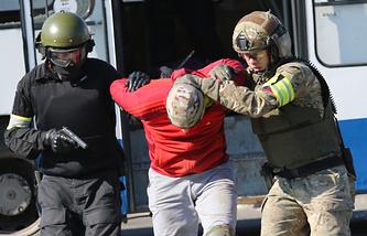 Anti-terror drills (archive)