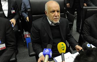 Iranian Oil Minister Bijan Namdar Zangeneh