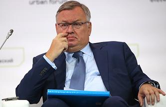 VTB CEO Andrei Kostin