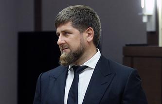 Leader of republic of Chechnya Ramzan Kadyrov