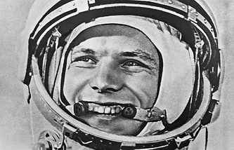 Earth's first cosmonaut Yuri Gagarin