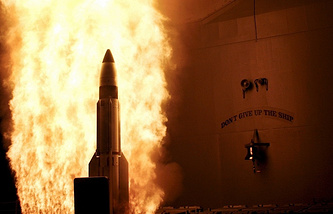 SM-3 missile launch (archive)