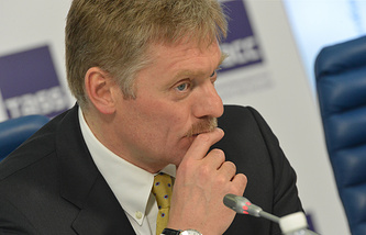 Russia's presidential spokesman Dmitry Peskov