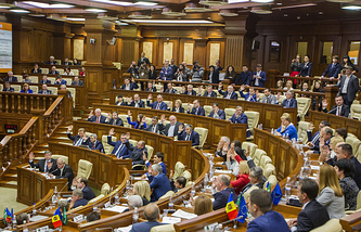 Moldova's Parliament