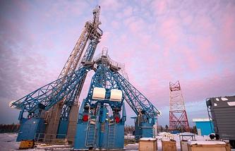Vostochny cosmodrome construction site