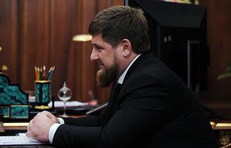 Chechen republic's head Ramzan Kadyrov