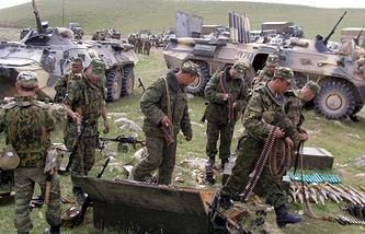 Russia's military drills in Tajikistan