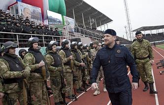 Chechnya's Head Ramzan Kadyrov (archive)