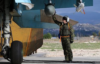 A Russian pilot in Syria