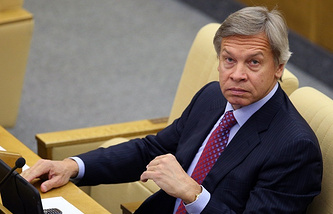 Chairman of the State Duma's international affairs committee, Alexey Pushkov