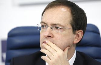 Russia's Culture Minister Vladimir Medinsky