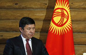 Kyrgyzstan's Prime Minister Temir Sariyev