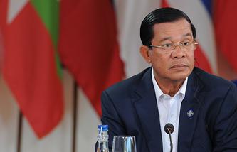 Cambodian Prime Minister Hun Sen