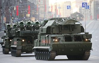 Tor M2U anti-aircraft missile system