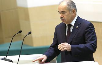 Deputy Chairman of the Russian Federation Council Ilyas Umakhanov