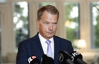 Finnish President Sauli Niinisto