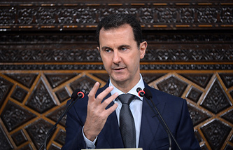 Syrian leader Bashar Assad
