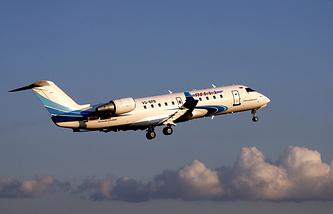 CRJ-200 plane