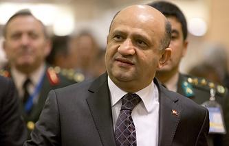 Turkey's Minister of National Defense Fikri Isik