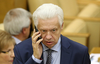 State Duma lawmaker Nikolai Kovalev