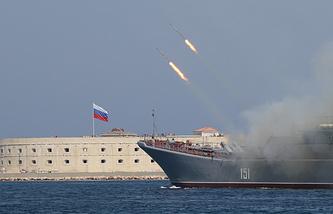 Navy Day celebrations in Sevastopol