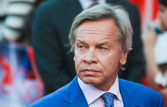Chairman of the State Duma lower house International Affairs Committee Alexei Pushkov