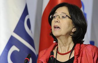 Austrian deputy Christine Muttonen