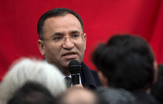 Turkish Justice Minister Bekir Bozdag