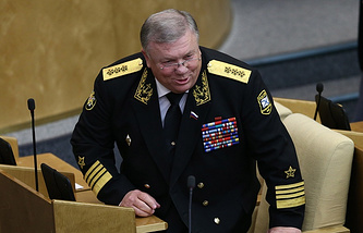 Admiral Vladimir Komoyedov