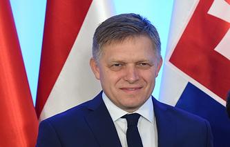 Prime Minister of Slovakia Robert Fico