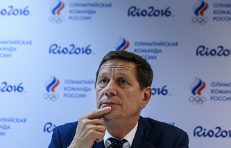 Alexander Zhukov, President of the Russian Olympic Committee