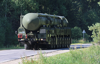 Yars missile launcher (archive)
