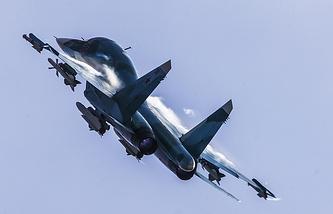 Sukhoi Su-34 bomber jet