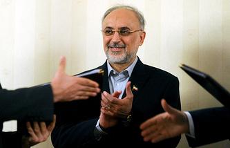 , Iranian Vice-President and Head of Iran's Atomic Energy Organization Ali Akbar Salehi