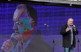 Leader of the Party of Socialists of Moldova, Igor Dodon