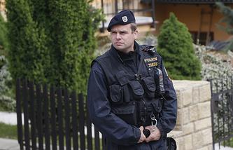 Czech police officer