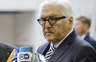 German Foreign Minister Frank-Walter Steinmeier