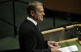EU President, Donald Tusk