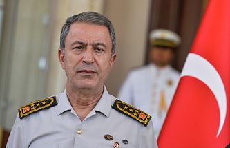 Turkish General Staff chief Hulusi Akar