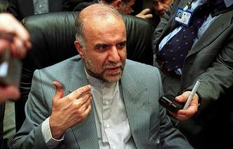Iranian Oil Minister Bijan Zangeneh