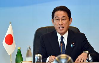 Japanese Foreign Minister Fumio Kishida