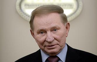 Kiev's envoy to Contact Group Leonid Kuchma