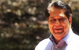 President of the BRICS New Development Bank Kundapur Vaman Kamath
