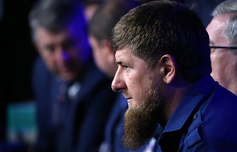 Ramzan Kadyrov, head of the Chechen Republic